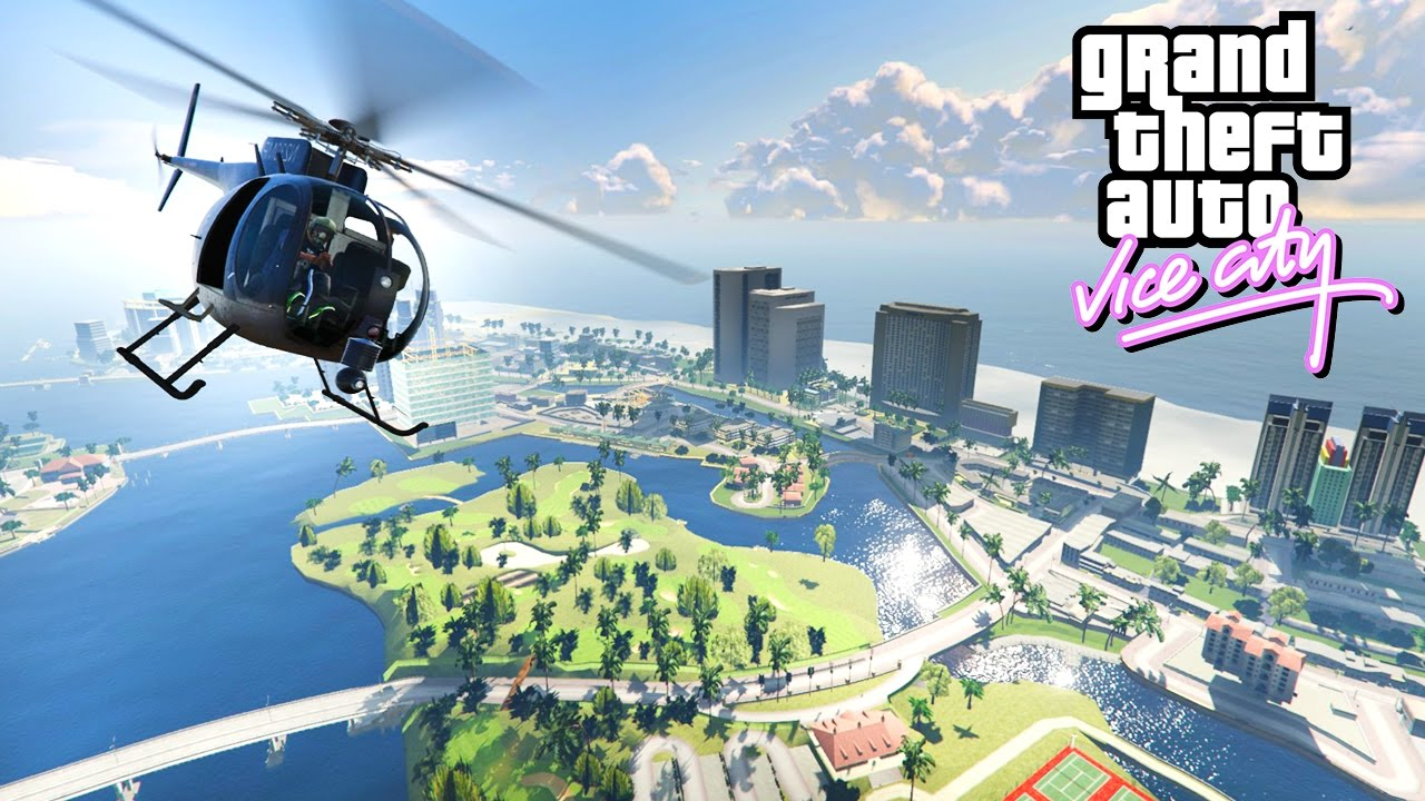 GTA 5 VICE CITY MOD!