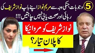 5 Reasons Why Maryam Nawaz Doesn't Want Nawaz Sharif anymore | Maryam Nawaz | Nawaz Sharif