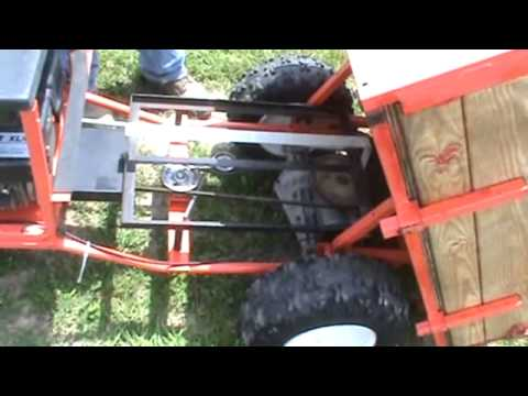 DR Power Wagon Dump Cart With Sulky And Extra Bed For Sale