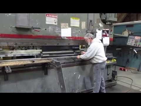 Cincinnati Press Brake Operation