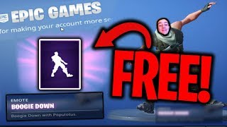 HOW TO GET THE NEW! FREE BOOGIE DOWN DANCE IN FORTNITE
