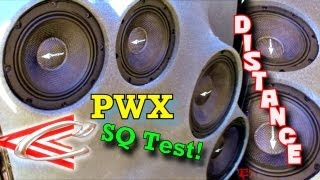 Crescendo Audio Distance TEST w/ EXO's 8 PWX Speakers & 6 Ft1 Tweeters Playing LOUD Music