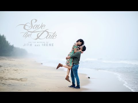 save the date 2017 Jith & Irene by R media Fotos