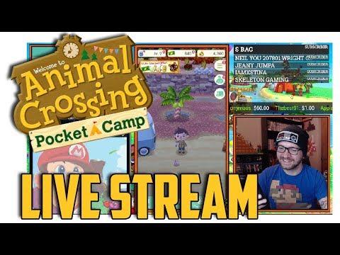 Animal Crossing: Pocket Camp - Live Stream Archive
