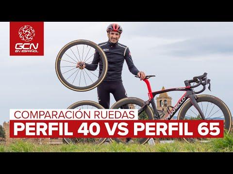 Comparación Ruedas | Perfil 40mm Vs 65mm