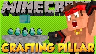 REVOLUTIONARY New Way of Crafting! | Minecraft Crafting Pillar Mod!