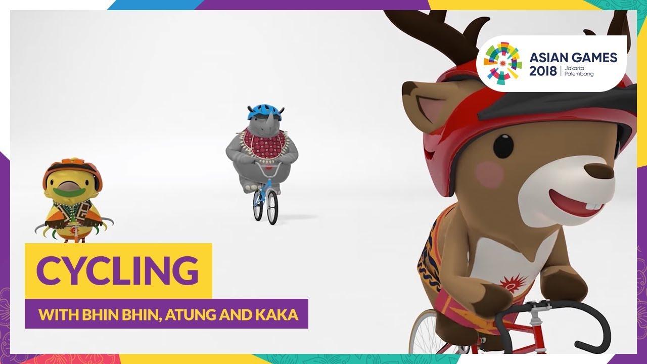 Cycling With Bhin Bhin Atung And Kaka