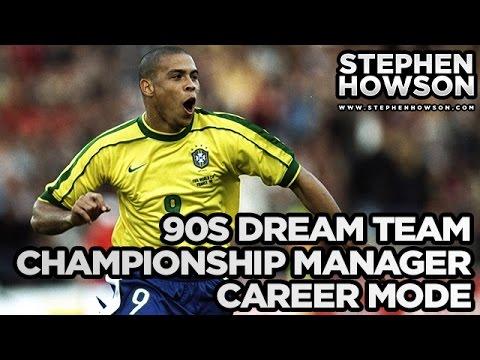 Ronaldo, Zidane, Maldini, it's a 90's DREAM TEAM!   Championship Manager Career Mode