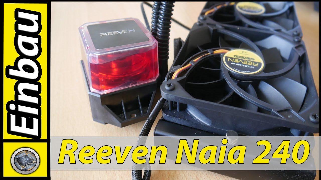 Der Einbau / Reeven Naia 240 (German)