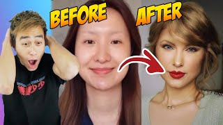 7 CRAZY Celebrity Makeup Transformations PROVE Makeup Is a LIE (TIK TOK CHINA)