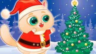 КОТЕНОК БУБУ - НОВЫЙ ГОД Мой Виртуальный Котик Мультик игра про кота Видео для детей #МАЛЫШЕРИН