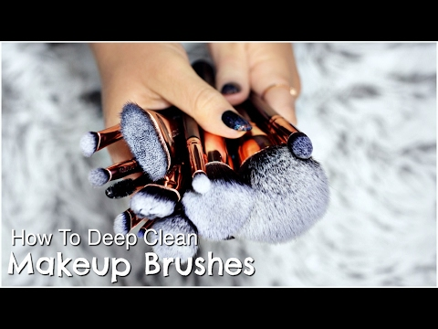 How To Clean Makeup Brushes | Deep Clean &...