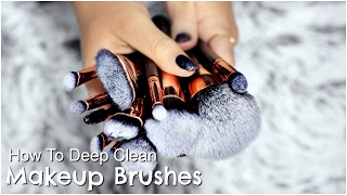 How To Clean Makeup Brushes | Deep Clean & Quick Dry StylPro