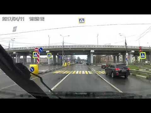 ДТП с участием автомобиля Почты России в Твери