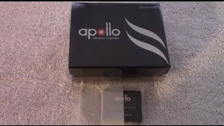Unboxing The Apollo Electronic Cigarette Starter Kit
