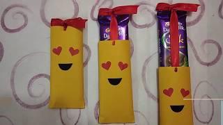 Chocolate gift slider | Chocolate day gift idea | love emoji
