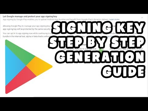 Google App Signing Key Generation Step By Step Procedure | How-To Guide Hindi