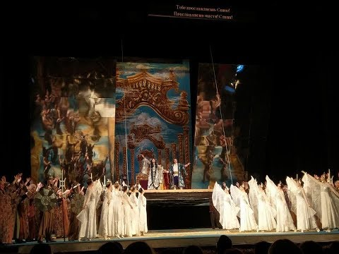TURANDOT .G.Puccini. Odessa National Opera House