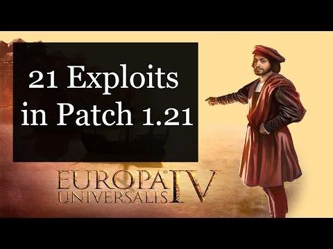 [EU4] 21 Exploits in Patch 1.21