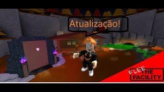 NOVA ATUALIZAÇÃO roblox flee the facility