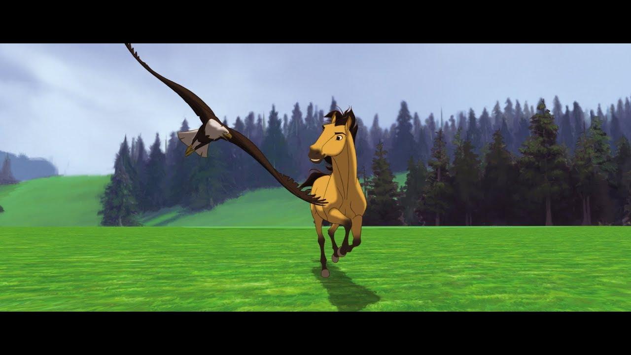 """Спирит: Душа прерий """"Молодая лошадь"""" - YouTube"""