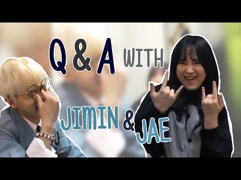Q&A with Jimin & Jae