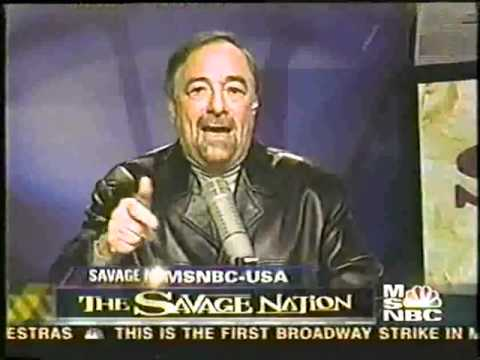 Download Youtube: The Savage Nation Television Series MSNBC (Episode 1) 2003 Show