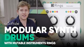 Modular Synth Drums w. Mutable Instruments Rings – Softube