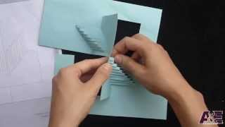 08 Amazing Stairs Pop Up Card Tutorial