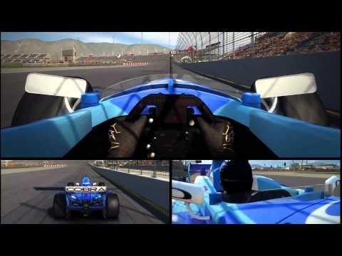 GRID Autosport MultiCam | 2 Laps | Lola B05/52 (A1GP) @ Autosport Speedway