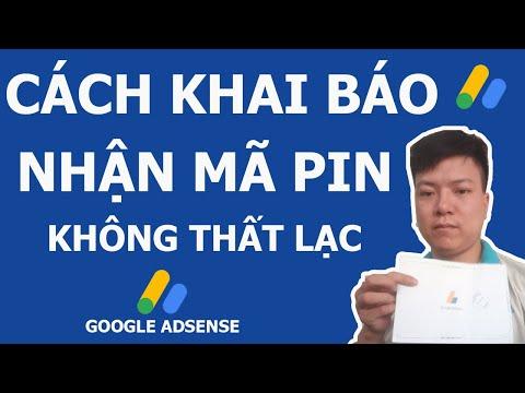 (Hoang Vlogs) Cách đăng ký nhận mã PIN Google Adsense không trượt phát nào