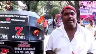 Fan Story : Sandeep Bacche - The Biggest Fan Of Sanjay Dutt (Sanju Baba) & A Unique Auto Rickshaw