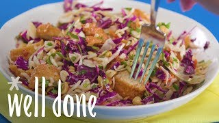 How to Make Crunchy Chicken-Peanut Chopped Salad | Recipes | Well Done