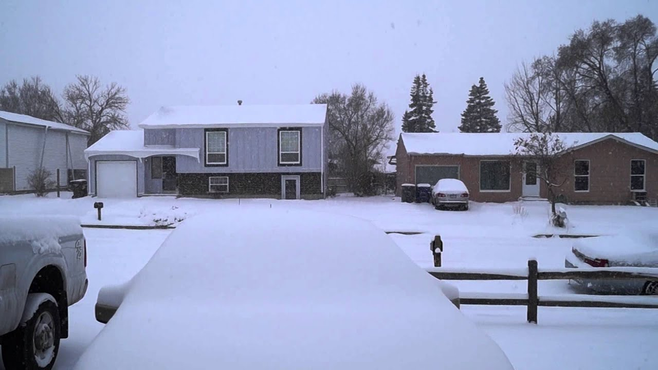 colorado springs snow storm 2015 pt 3 youtube. Black Bedroom Furniture Sets. Home Design Ideas