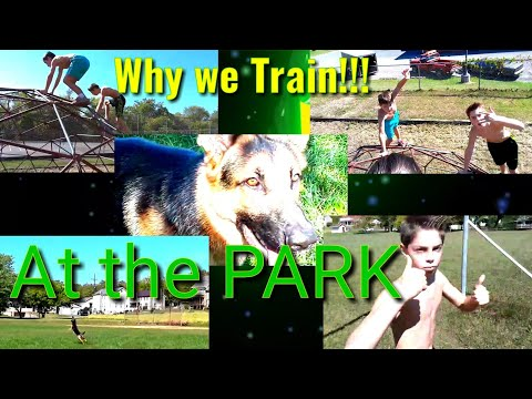 Armwrestling WORKOUT And More At The Park!!!