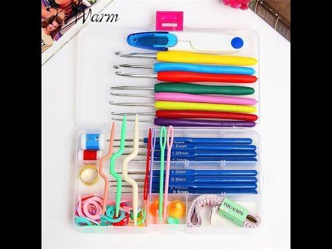 Набор крючков и мелочей для вязания покупка на сайте Алиэкспресс/AliExpress