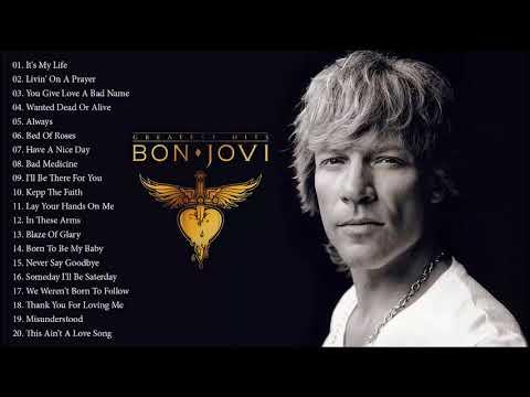 The Best Of Bon Jovi - Bon Jovi Greatest Hits Full Album