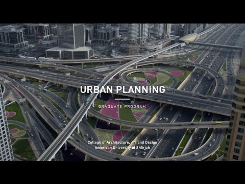 Urban Planning graduate program at College of Architecture, Art and Design