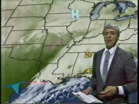"Huntsville, AL Heavy Snow 10"" - WAFF TV - 1/7/88"