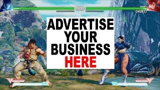 Street Fighter V now shows in-game adverts because Capcom are greedy - RANT !!