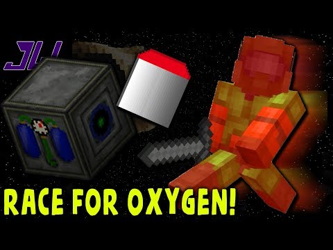 RACE FOR OXYGEN! | Minecraft Galacticraft Asteroid Challenge | Episode 3