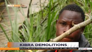 Kibra demolitions ongoing #DayBreak