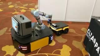 Autonomous mobile manipulation pick & place demo  (ICRA 2017)