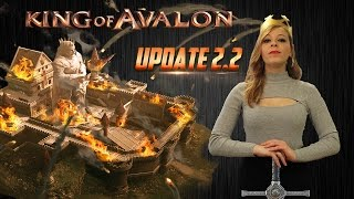 KoA New Update 2.2, The Cross-Kingdom Battle! With Lady of Avalon(King of Avalon – Dragon Warfare Download now! http://bit.ly/Download_KoA With subtitles. Please click