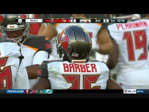 Tampa Bay Bucs QB Jameis Winston first drive TD against Pittsburgh Steelers