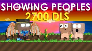 SHOWING PEOPLES 2700 Diamond Locks! REACTIONS | Growtopia