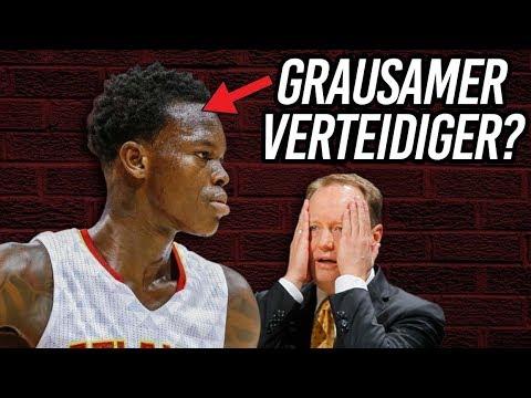 Dennis Schröder ist der zweitschlechteste Verteidiger der NBA?! 🤔