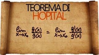 Teorema di Hopital - Spiegazione ed esempi di applicazione