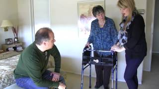 Occupational Therapist Home Visit - Bathroom and Mobility