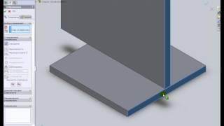 Создание соединенной детали при сборке в SolidWorks(В сборке можно соединить две или несколько деталей для создания новой детали. Операция соединения удаляет..., 2014-09-04T10:36:24.000Z)